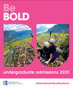 UG Admissions for 2020 Entry (International Qualifications)