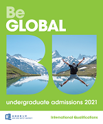 UG Admissions for 2021 Entry (International Qualifications)